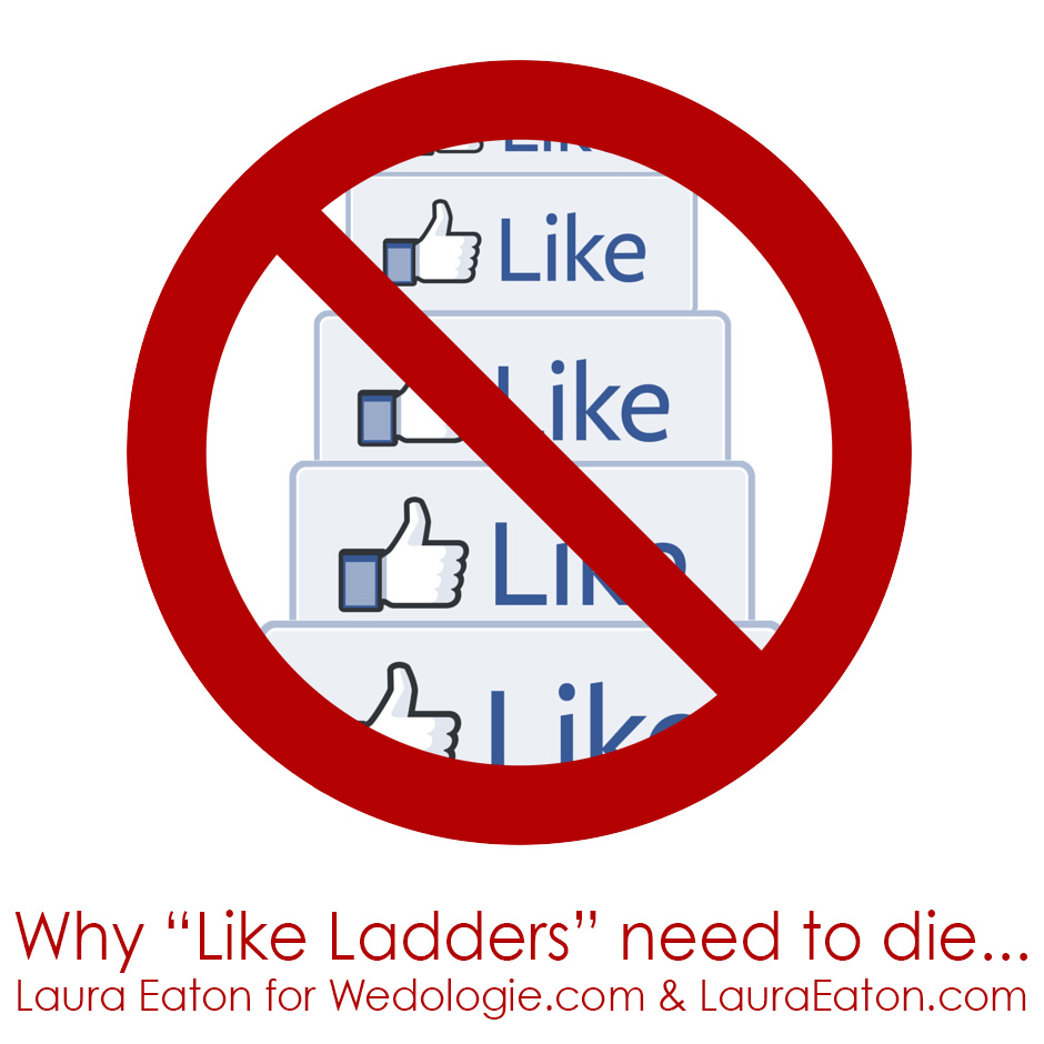 Value of Likes on Facebook and why like ladders need to die